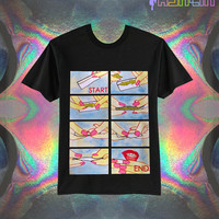 UNISEX How To Roll A Joint 420 Illustration T-Shirt // fASHLIN