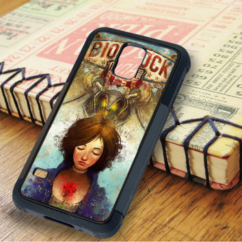 Briliant Bioshock Infinite Poster Samsung Galaxy S5 Case