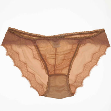 Luxe Eyelash Panty - Blush
