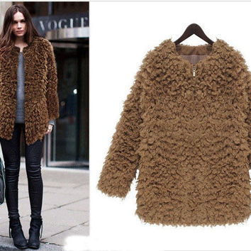 Fur Winter Coat Jacket [9584977802]