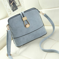 Shell Small Handbags New 2016 Fashion Ladies Leather handbag Casual Purse Designer Crossbody Shoulder bag Women Messenger bags