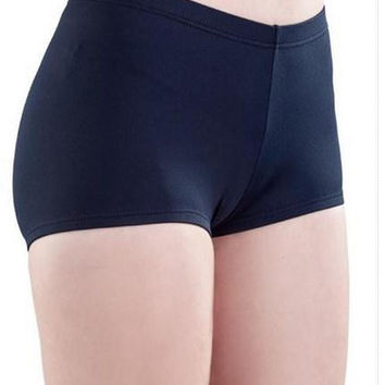 So Danca LO09 Adult Jersey Spandex Booty Shorts
