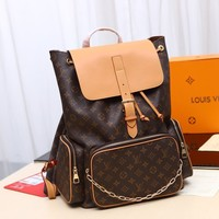 Kuyou Gb229925 Louis Vuitton Lv M44658 Bosphore Chrlstopher Monogram Bag Backpack Trio 44x49x22cm