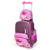 School Backpack kids Trolley Bags For  with Wheels Children Travel Rolling backpack For girl Travel bag Trolley luggage Backpacks AT_48_3