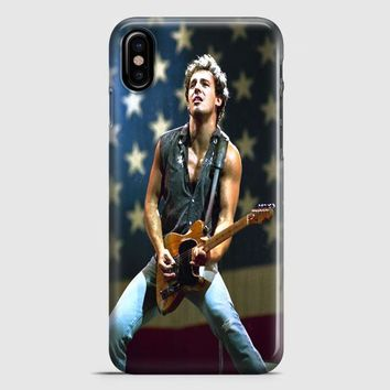 Bruce Springsteen Born To Run Quote iPhone X Case | casescraft