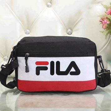 Fila Women Fashion Leather Satchel Bag Shoulder Bag Crossbody-8