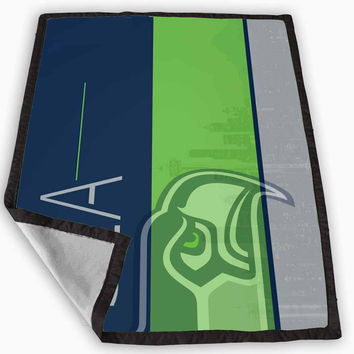 Seattle Seahawks Blanket for Kids Blanket, Fleece Blanket Cute and Awesome Blanket for your bedding, Blanket fleece **