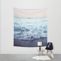 Crash into Me Wall Tapestry by Leah Flores