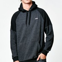 Vans Colorblock Pullover Hoodie - Mens Hoodie - Black Heather