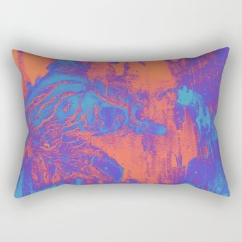 acidwash Rectangular Pillow by DuckyB