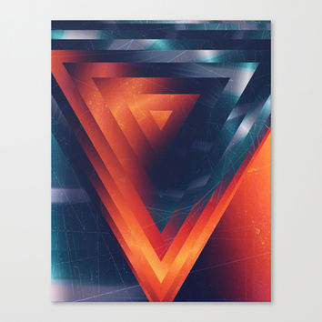 Triangled Canvas Print by DuckyB (Brandi)