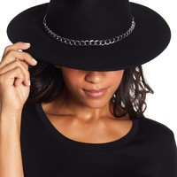 Michael Kors | Chain & Leather Detailed Hat | Nordstrom Rack