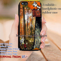 Tree House Calvin and Hobbes iPhone 6s 6 6s+ 5c 5s Cases Samsung Galaxy s5 s6 Edge+ NOTE 5 4 3 #cartoon #anime #calvinandhobbes dl11
