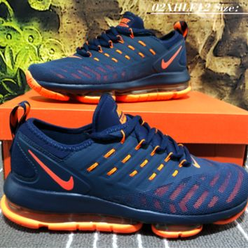 Nike 2019 New Air Max Vapormax Plyknit Running Shoes Purple