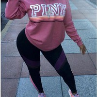 PINK Victoria's Secret Women Fashion Top Sweater Pullover