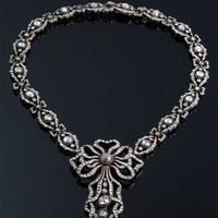 """Cartier-Paris"" Antique Diamond Necklace ~ M.S. Rau Antiques"