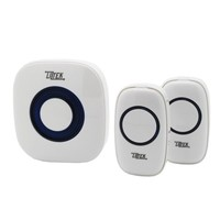 Liztek Portable Wireless Doorbell with 1 Plug In Receiver and 2 Remotes - Walmart.com