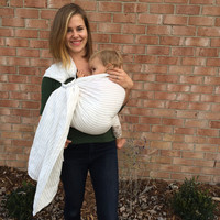 Double Layer Linen Ring Sling