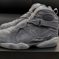 Air Jordan Retro 8 Cool Grey