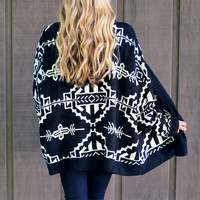 Trusty Tribal Cardigan - Restocked