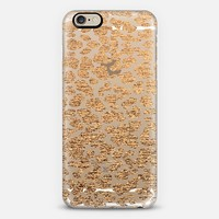 BRONZE LEOPARD - CRYSTAL CLEAR PHONE CASE iPhone 6 case by Nika Martinez | Casetify