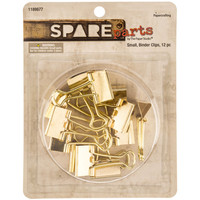 Small Gold Binder Clips | Hobby Lobby | 1189877