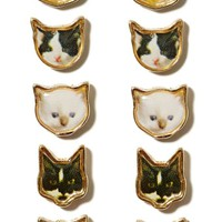 Good Kitty Earring Set