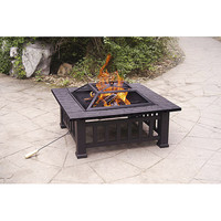 """Walmart: 32"""" Alhambra Fire Pit with Cover"""