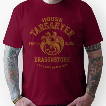 Team Targaryen (Gold) Unisex T-Shirt