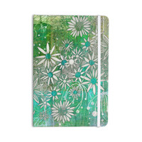 "Marianna Tankelevich ""Spring Daisies"" Green White Everything Notebook"