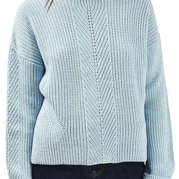 Topshop Ribbed Sweater | Nordstrom