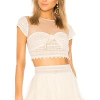 House of Harlow 1960 x REVOLVE Ames Top in Natural