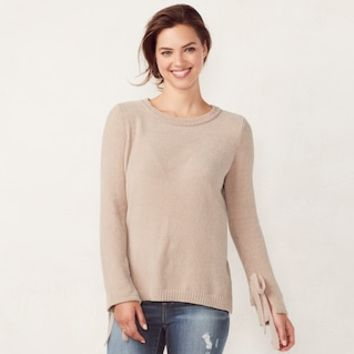 Women's LC Lauren Conrad Crewneck Sweater | null