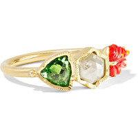 Brooke Gregson - Maya 18-karat gold multi-stone ring