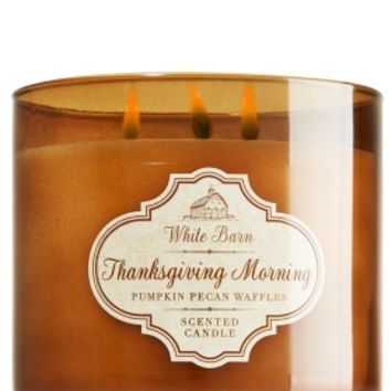 3-Wick Candle Thanksgiving Morning - Pumpkin Pecan Waffles