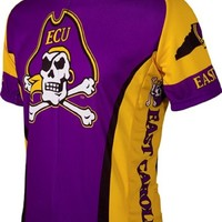 NCAA Men's Adrenaline Promotions East Carolina University Pirates Road Cycling Jersey