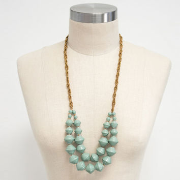 31 Bits Jade Double Strand Beaded Necklace