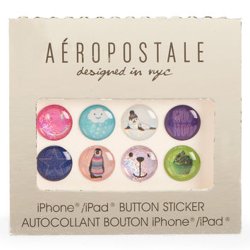 Aeropostale iPhone/iPad Button Stickers - Multi, One