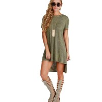 Olive Mineral Tunic