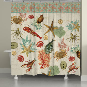 Beyond the Surf Shower Curtain