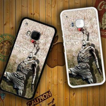 DCKL9 Michael jordan slam dunk carbonite V0979 HTC One S X M7 M8 M9, Samsung Galaxy Note 2 3
