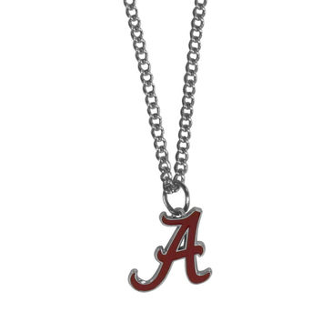 Alabama Crimson Tide Chain Necklace with Small Charm CN13SC