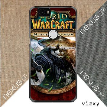 World of Warcraft Guardian Druid Mists of Pandaria Z0652 Huawei Google Nexus 6P Case