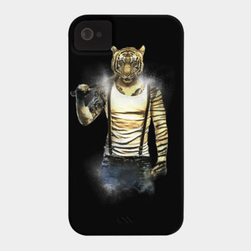 Blizzard Tiger Phone Case By Daniacdg Design By Humans