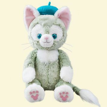 Duffy Best New Friends Gelatoni blue cat Little painter Japanese Anime Toys soft toy for girls baby plush toys Good Quality