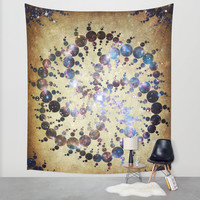 The 409 Circles Wall Tapestry by Jenndalyn
