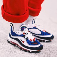 Nike Max 98 Gundam High retro sports shoes
