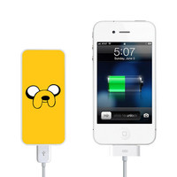 Adventure Time Jake Power Bank External Battery Charger for iPhone and Samsung Andriod