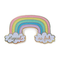 Magical As F Enamel Pin