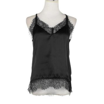 Lace Camisole Bra Top Caraco Summer Lace Floral Silk Women Ctopped Tops Sexy Lingerie Femme Soie#121